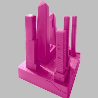 Felhőkarcolók ihlették a dizájnos szexjátékokat