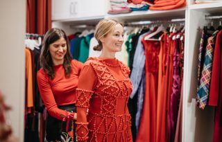 """Epres Panni: """"Több olyan ruhadarabom van, amit 20 éve hordok"""""""