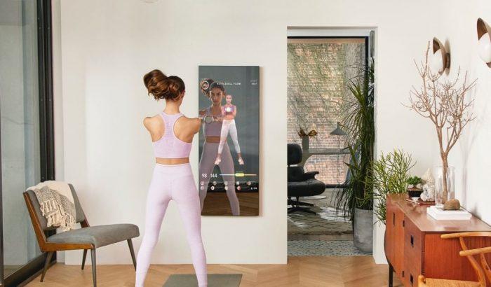 A fitnesz jövője: tükör lesz a virtuális személyi edzőnk