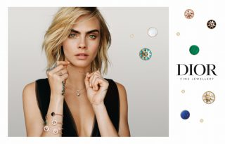 Cara Delevingne a Dior új ékszereinek arca