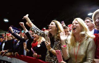 Trump és a hűséges női szavazók