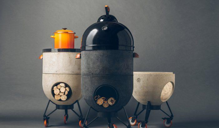 A konyha éke lehet ez a rusztikus, mégis szupermodern tűzhely
