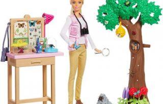 Barbie a környezetvédelemért kampányol