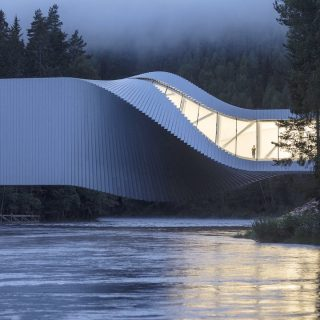 Egyszerre modern híd is a lenyűgöző norvég múzeum