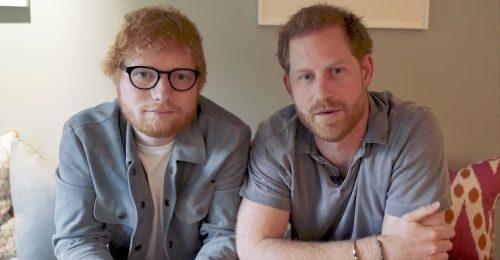 Harry herceg és Ed Sheeran összefogott a mentális egészségért