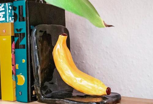 Már egy banán is megtámaszthatja kedvenc könyveidet