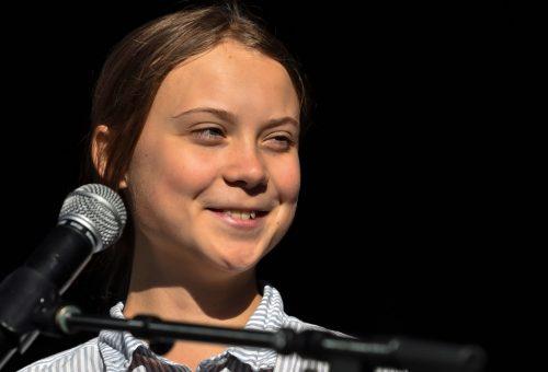 Greta Thunberg rossz kontinensen ragadt