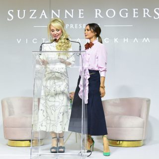Victoria Beckham bátor színpárosítása inspiráló