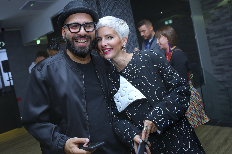 7. kép: Lotfi Begi és felesége, Shadi Réka