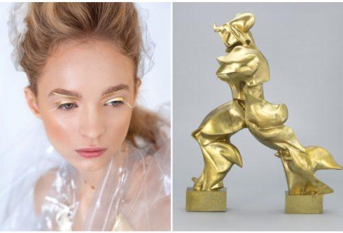 Lenyűgöző modern sminkek festőzsenik stílusában – videóval