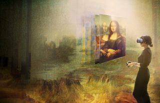 A virtuális valóság segítségével kel életre Mona Lisa