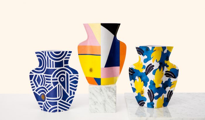 Papírból készülnek a legszebb vázák