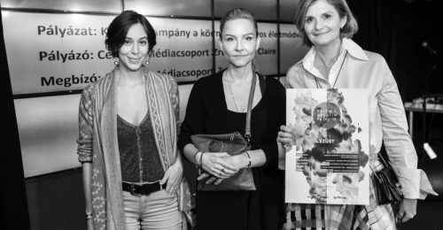 Prizma díjat nyert a Marie Claire