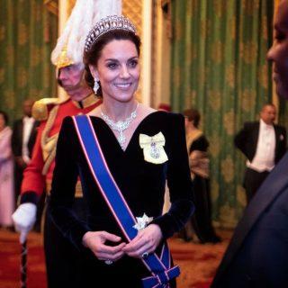 Diana csodaszép tiaráját viselte Kate Middleton