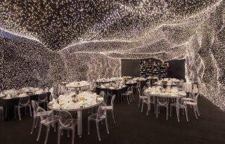 250.000 fénypont világítja meg a világ legragyogóbb éttermét
