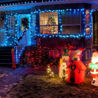 Bánjunk okosan a karácsonyi fényekkel