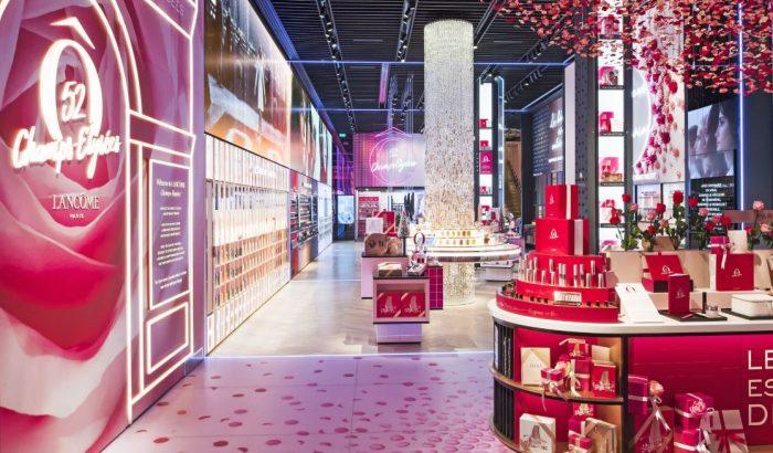 Luxuspalotának is elmegy a Lancôme eddigi legszebb üzlete