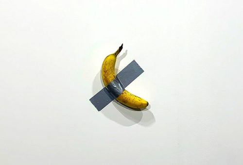 Egy lakás árát fizették a falra ragasztott banánért