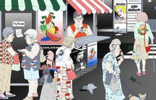 Tájkép banyatankkal – Budapest arcai realista képeken
