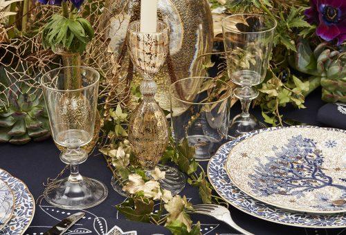 Mesés ünnepi asztalt terít a Dior