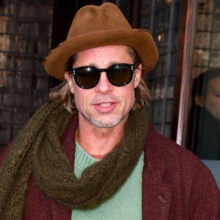 Brad Pitt civilben is stílusos?