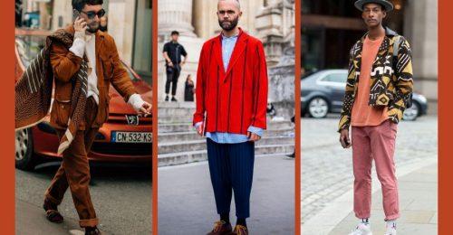 A trendi, meleg árnyalatok a férfiak ruhatárát is színesebbé teszik