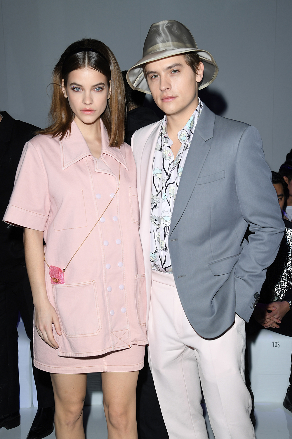 Palvin Barbara és Dylan Sprouse (Fotó: Getty Images)