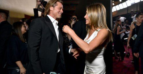 Jennifer Aniston és Brad Pitt volt a SAG-gála szenzációja