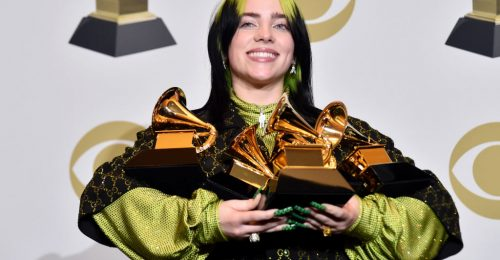 Grammy 2020: Billie Eilish besöpört mindent