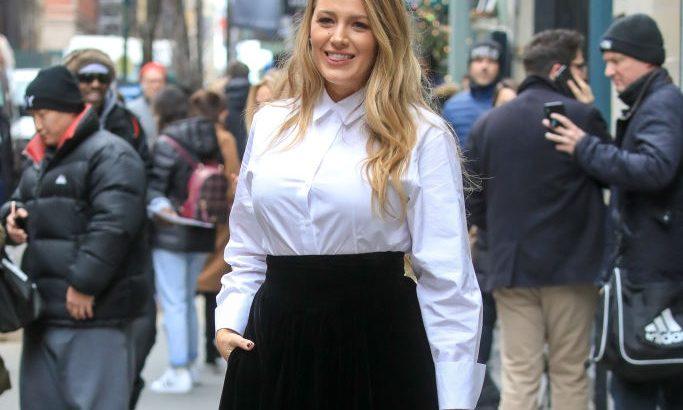 Blake Lively mostanában vintage femme fatale-nak öltözik