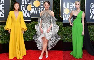 Ezek voltak a Golden Globe leglátványosabb ruhái