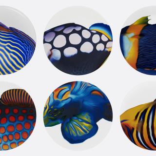 Óceán ihlette tányérok a Diortól
