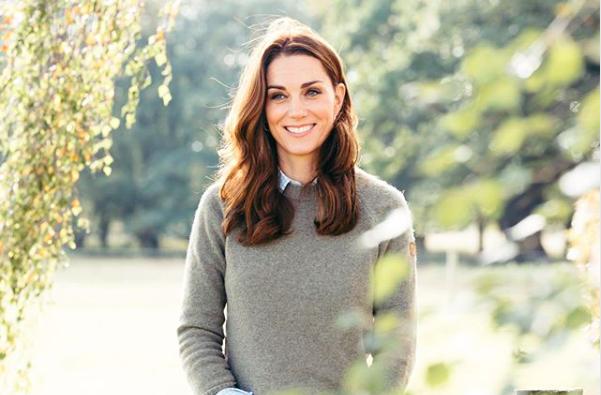 Kate Middleton csak úgy ragyog születésnapi fotóján