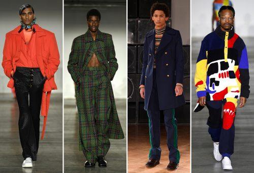 A narancs az új fekete: ezek voltak a Londoni Férfi Divathét legmenőbb ruhái