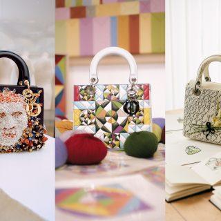 Fantasztikus művészek álmodták újra a Dior ikonikus táskáját