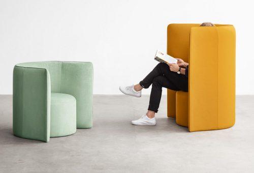 Irodai dizájnbútorok azoknak, akik nem akarnak beszélgetni a kollégákkal
