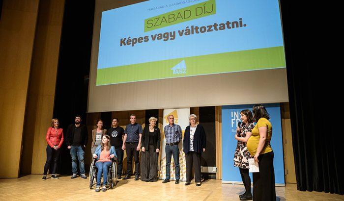 Civilek reflektorfényben: ismerjétek meg a TASZ első SZABAD-díjának jelöltjei