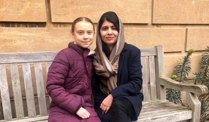 Greta Thunberg és Malála Júszafzai végre találkoztak