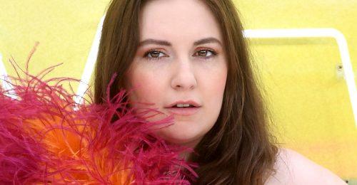 Lena Dunham modellként debütált a londoni divathéten
