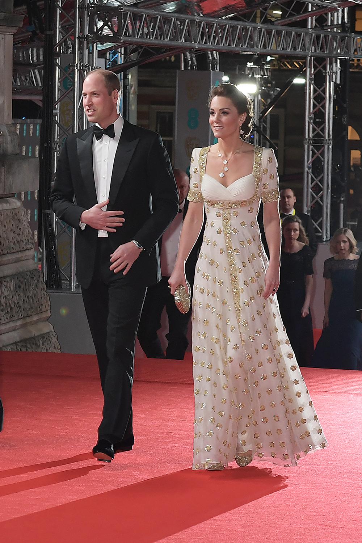 Katalin hercegné BAFTA 2020