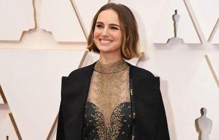 Ruhájával titkozott Natalie Portman az idei Oscaron