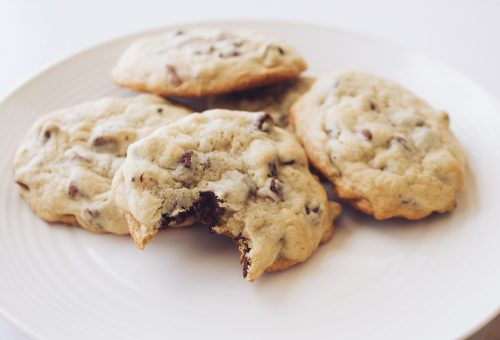 Mogyoróvajas-csokis keksz egészséges kiadásban