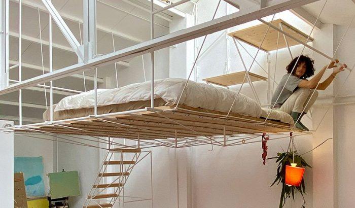 Lebegő ágyban alszanak a legmenőbb dizájnerek