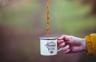 Húsz perc séta felér egy csésze kávéval