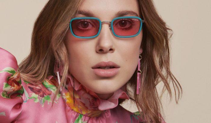 Millie Bobby Brown szemüveg-kollekciója