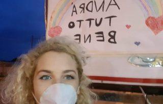 """Karanténnapló Szicíliából: """"a bőrömön érzem a történések súlyát"""""""