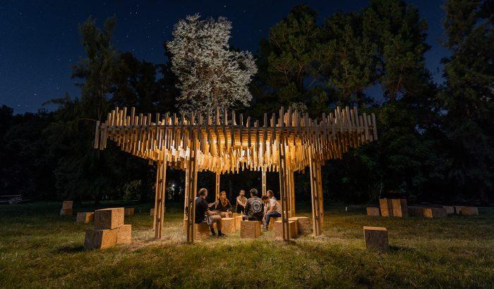 Magyar építésztábor Argentínában