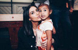 Kim Kardashian lánya babaházkarantént épített