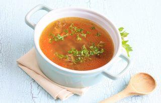 Napi receptsztori: marhahúsleves és málnás tejpite