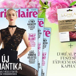 Megjelent az áprilisi Marie Claire + Marie Claire Beauty